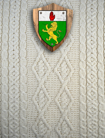 Mc Guinness Clan Aran Throw