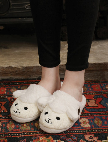 Sheep Slip-On Adult Slippers