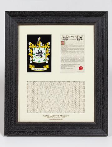 Gallagher Clan Aran & History Display