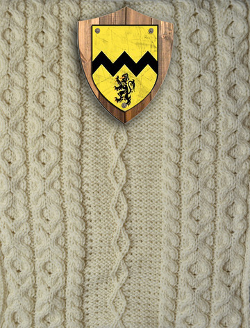 Morrissey Clan Aran Throw