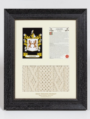 Collins Clan Aran & History Display