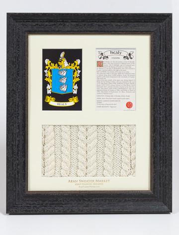 Healy Clan Aran & History Display