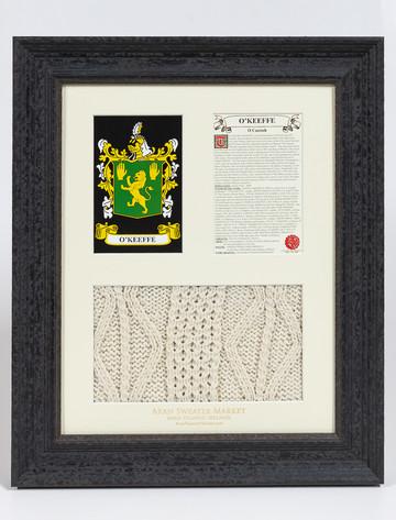 O'Keeffe Clan Aran & History Display