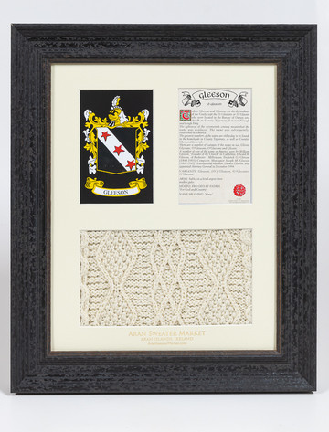 Gleeson Clan Aran & History Display