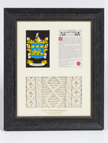 Mc Govern Clan Aran & History Display