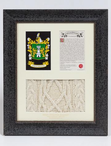 O'Shaughnessy Clan Aran & History Display