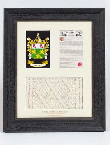 Rooney Clan Aran & History Display