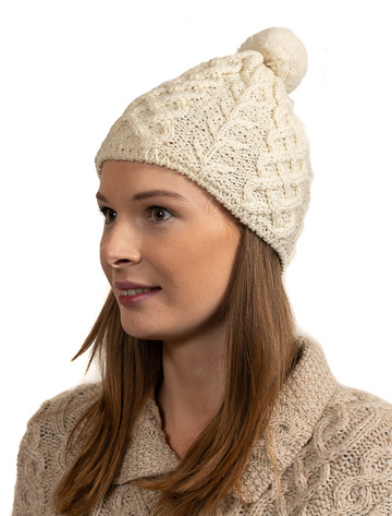 Super Soft Tree of Life Hat - Classic Aran