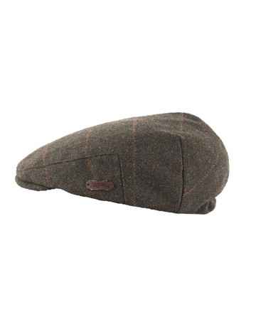 Tweed Classic Flat Cap- Green Box Check