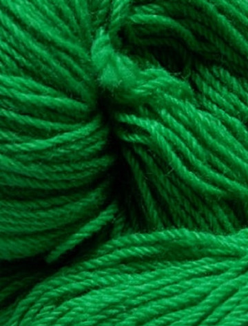 Aran Wool Knitting Hanks - Kelly Green