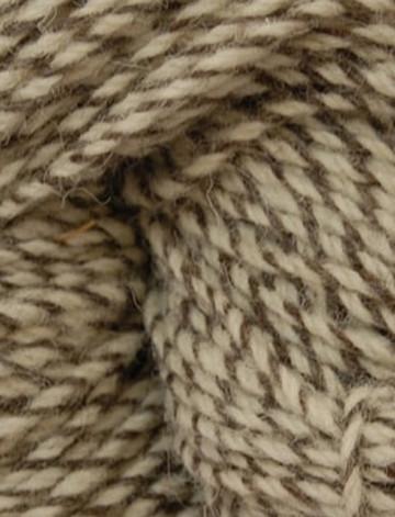 Aran Wool Knitting Hanks - Natural Tweed