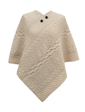 Connolly Clan Aran Poncho