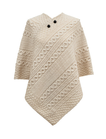 Mc Grath Clan Aran Poncho