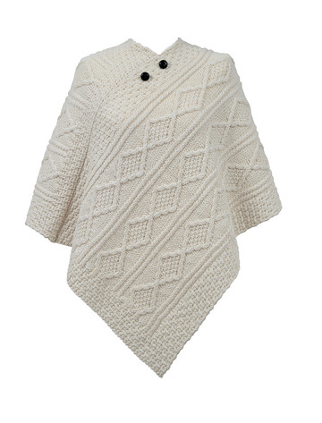 Smith Clan Aran Poncho