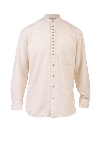 小子s Unisex Grandfather Shirt - Stone
