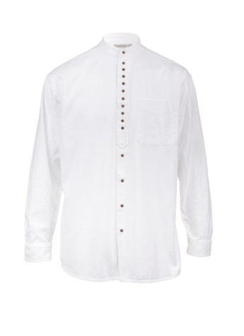 小子s Unisex Grandfather Shirt - White