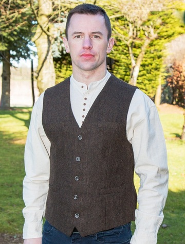 Emerald Waistcoat - Brown