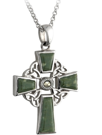 康尼马拉大理石Celtic Cross Pendant