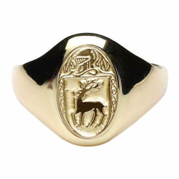 McCarthy Clan Official Ladies 10K Gold Ring