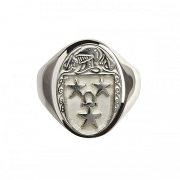 Murray Clan Official Sterling Silver Ring