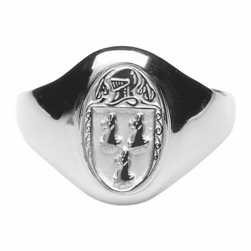Ryan Clan Ladies Sterling Silver Ring
