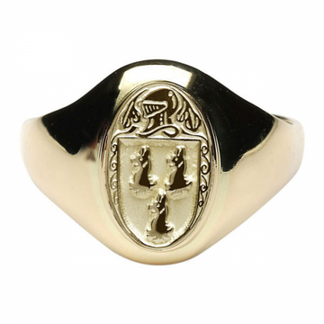 Ryan Clan Official Ladies 10K Gold Ring