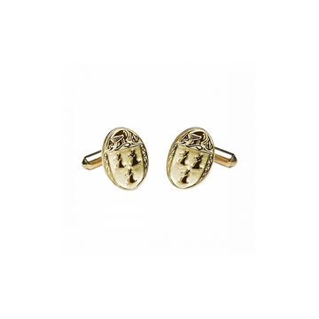 Ryan Clan Official Medium Cufflinks 10K Gold