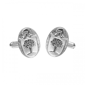 O'Connor Clan Official Large Cufflinks Sterling Silver