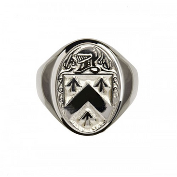 Walsh Clan Official Sterling Silver Ring