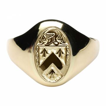 Walsh Clan Official Ladies 10K Gold Ring