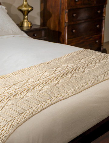 Conway Clan Aran Bed Runner