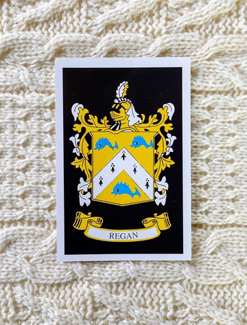 Regan Clan Aran Bed Runner