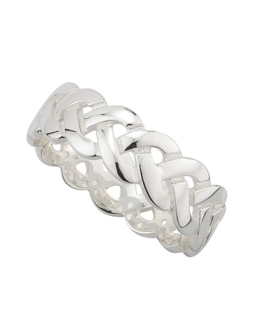 Gents Sterling Silver Celtic Knot Ring