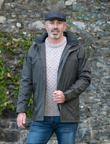 Kingston Men's Waterproof Jacket - Olive