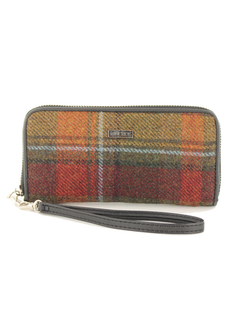 Mucros Tweed Purse - Autumn Plaid