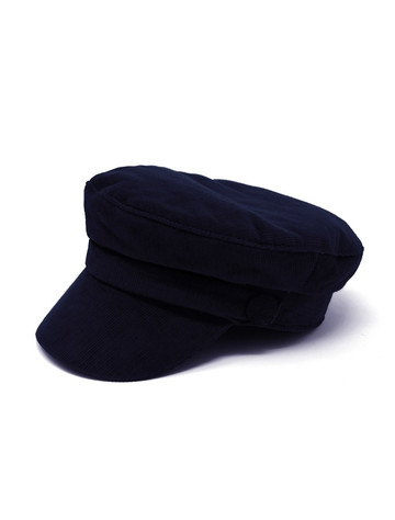 Wild Atlantic Skipper Cord Cap- Navy