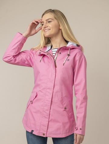 Tori Ladies Waterproof Coat - Soft Pink