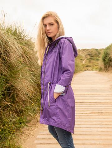 Emily Waterproof Parka Jacket - Violet
