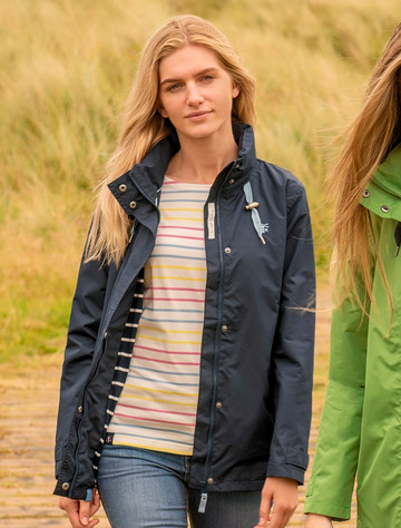 Beachcomber Ladies Waterproof Coat - Night Sky