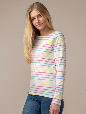 Causeway Long Sleeved T-Shirt - Multi-Stripe