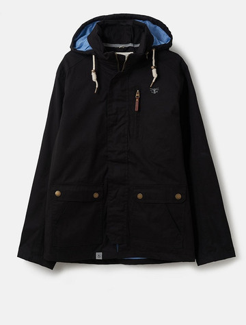 Islander Men's Waterproof  Country Jacket - Black