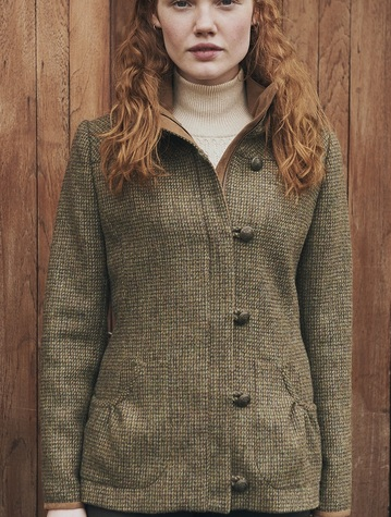 Bracken Ladies Tweed Jacket - Heath