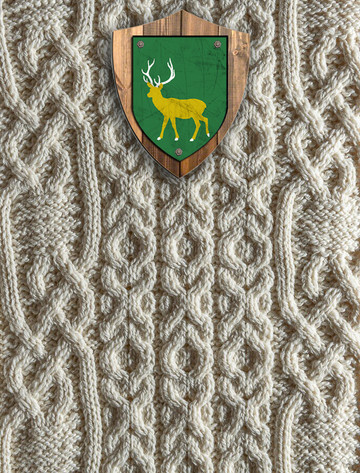 Edwards Clan Aran Throw