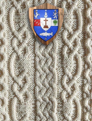 Keane Clan Aran Throw