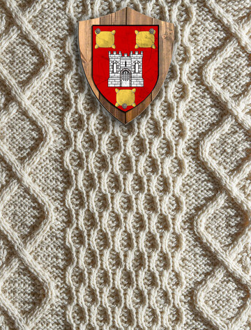 Redmond Clan Aran Throw
