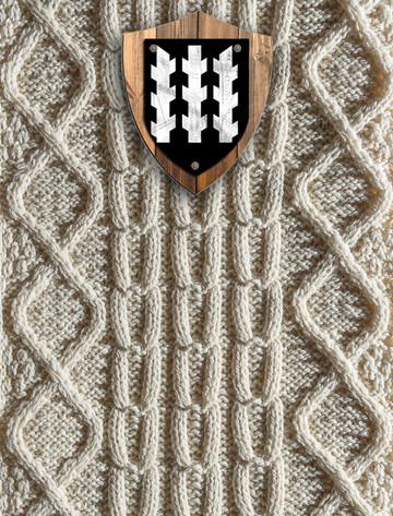 Stafford Clan Aran Throw