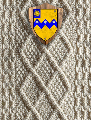 Thompson Clan Aran Throw