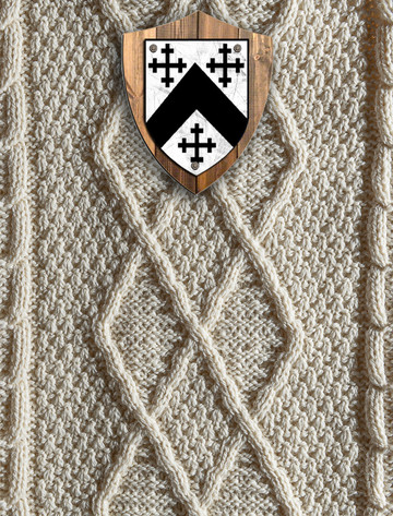 Anderson Clan Aran Throw