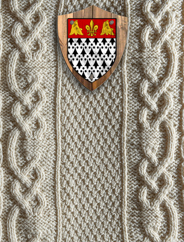 Taylor Clan Aran Throw