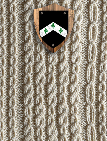 Davis Clan Aran Throw